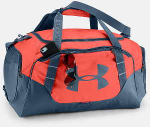 Сумка Under Armour UA Undeniable Duffle 3.0 M After Burn / Static Blue / Static Blue 1300213-877