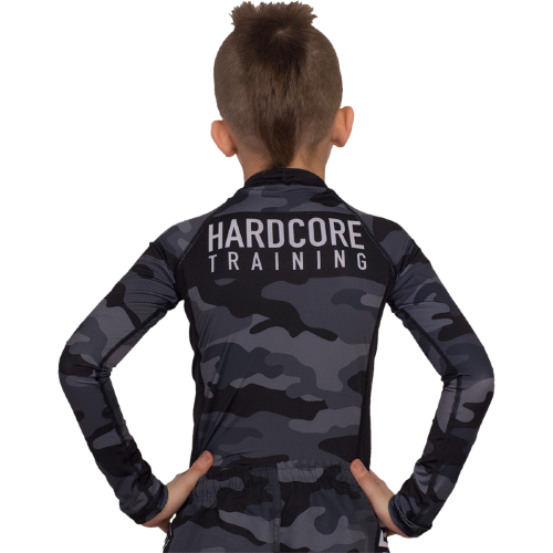 Детский рашгард Hardcore Training Night Camo 2.0 hctrash0207