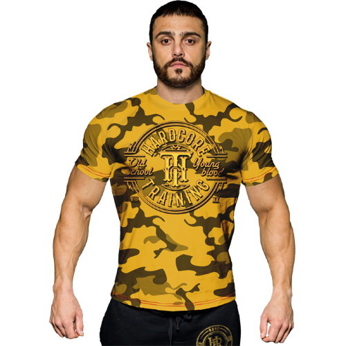 Футболка Hardcore Training Camo hctshirt0139