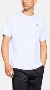 Футболка Under Armour UA Tech SS Tee White /  / Overcast Gray 1326413-100