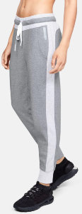 Брюки Under Armour DOUBLE KNIT PANT Steel Medium Heather / Aluminum Medium Heather 1323196-035