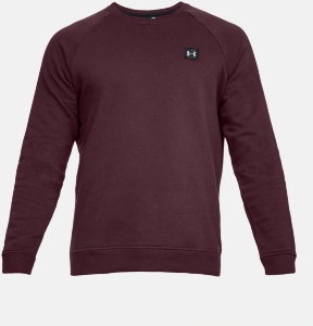 Джемпер Under Armour RIVAL FLEECE CREW Dark Maroon /  / Black 1320738-600