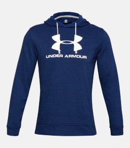 Толстовка Under Armour SPORTSTYLE TERRY LOGO HOODIE 1348520-409