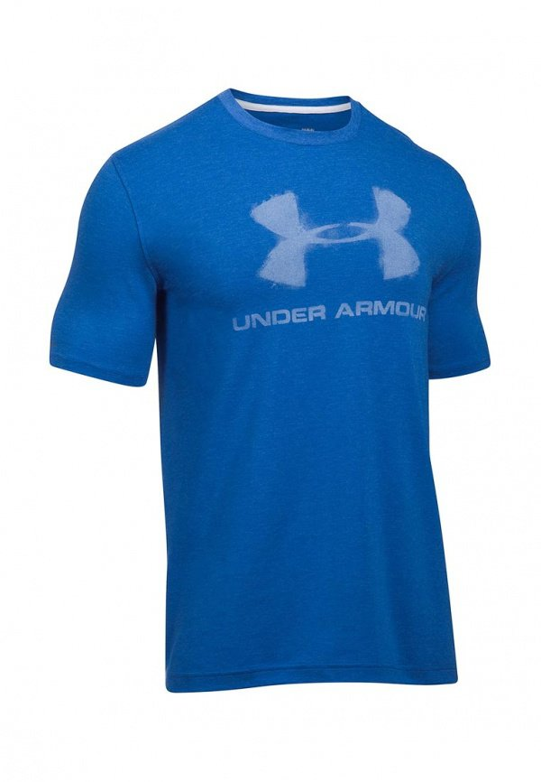 Футболка Under Armour Chalked Sportstyle Logo SS 1289891-789