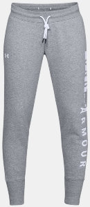 Брюки Under Armour Cotton Fleece WM Pant Steel Light Heather / White / White 1321190-035