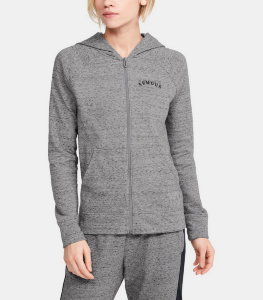 Толстовка Under Armour Rival Terry FZ Hoodie 1351810-035