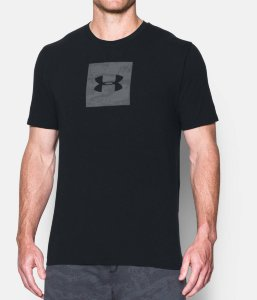 Футболка Under Armour UA Camo Boxed Logo SS-BLK 1297954-001