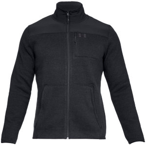 Джемпер Under Armour Sweaterfleece Full Zip Black / Black / Charcoal 1316264-001