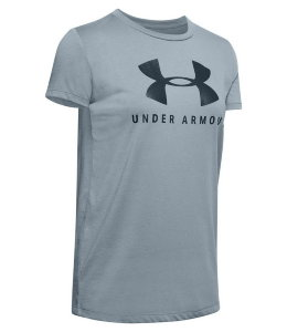 Футболка Under Armour GRAPHIC SPORTSTYLE CLASSIC CREW 1346844-396