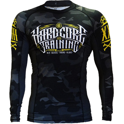 Рашгард Hardcore Training Night Camo hctrash081