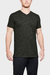 Футболка Under Armour Sportstyle Core V Neck Tee 1306492-357