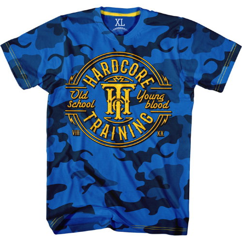 Футболка Hardcore Training Camo hctshirt0136