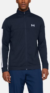 Ветровка Under Armour SPORTSTYLE PIQUE JACKET Academy / Academy / White 1313204-409