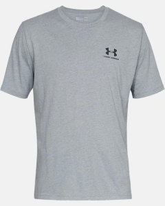 Футболка Under Armour Sportstyle Left Chest Logo SS 1326799-036