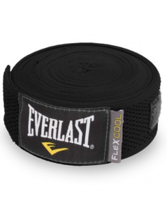 Бинты Everlast Breathable 4.55м черн. 4458B