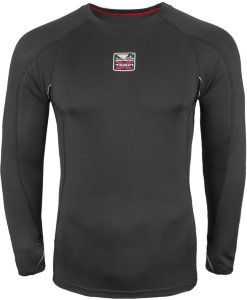 Рашгард Bad Boy X-Train Compression T-shirt Long Sleeves - Black 5214_bk