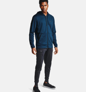 Толстовка Under Armour UA Armour Fleece FZ Hoodie 1357110-408