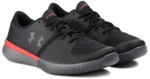 Кроссовки Under Armour UA Zone 3 NM Black / Radio Red / Charcoal 3020753-001