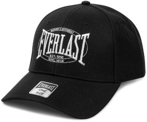 Бейсболка Everlast Authentic Logo черн. RE005 BK