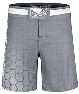 Шорты для MMA Bad Boy Legacy Prime Shorts - Grey 5668_gy_wh