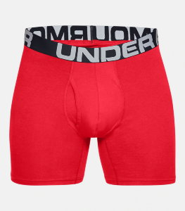 Трусы Under Armour Charged Cotton 6in 3 Pack 1327426-600