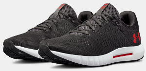 Кроссовки Under Armour UA Micro G Pursuit Fiber Opt Charcoal / White / Red 3021148-101