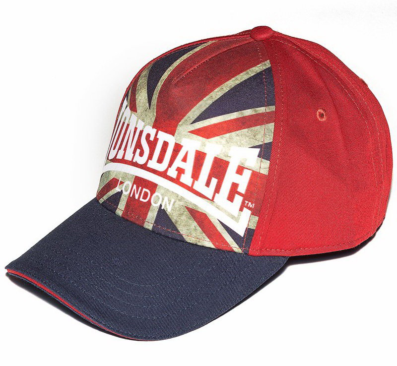 Бейсболка Lonsdale 114896 RED/NAVY BLUE