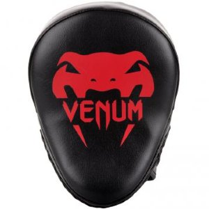 Лапы Venum Light Black/Red (пара) 00409