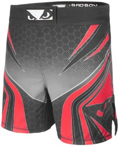 Шорты для MMA Bad Boy Legacy Evolve Shorts Black/Red 4582_gy_rd