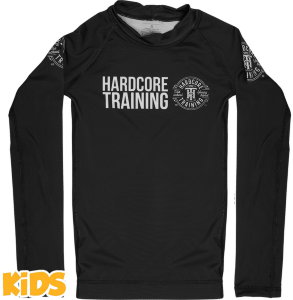 Рашгард Hardcore Training детский Recruit Black hctrash0204