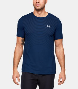 Футболка Under Armour Seamless Wave SS 1351450-449