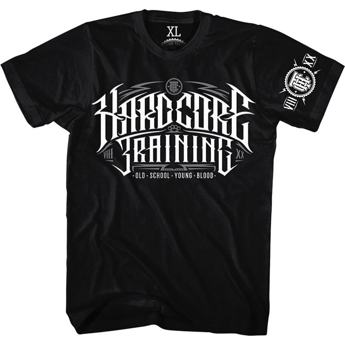 Футболка Hardcore Training Retro Sign 2.0 hctshirt0122