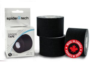 Тейп SpiderTech 5см*5м. черн. NM0005.09.00.21