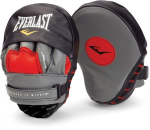 Лапы изогнутые Everlast Mantis Punch Mitts красн/черн. 410000