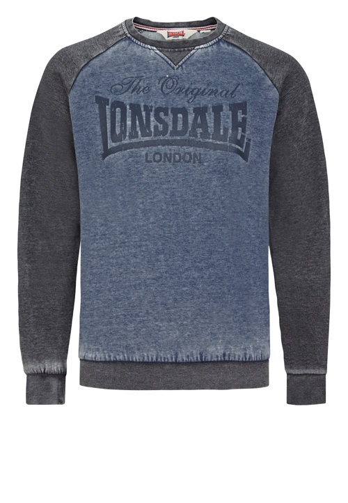 Толстовка Lonsdale 114676 NAVY/GREY