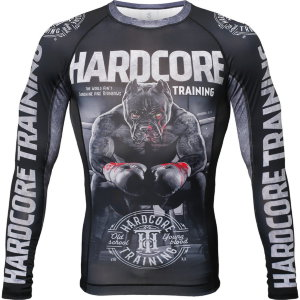 Рашгард Hardcore Training х Ground Shark The Moment of Truth hctrash0198