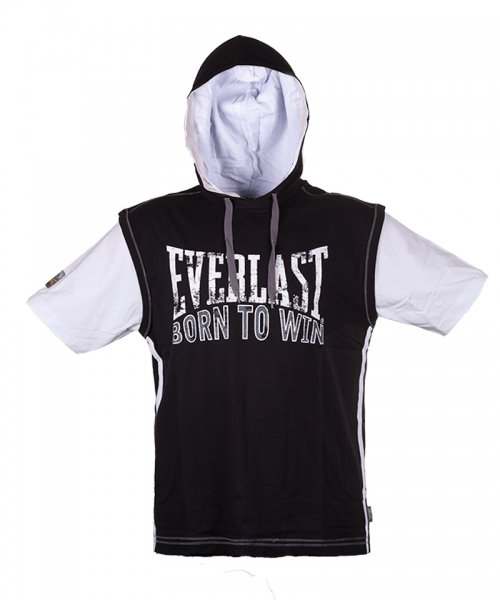 Футболка с капюш. Everlast Mock Layer EVR6495BK