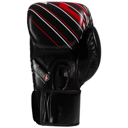 Перчатки боксерские Hayabusa Ikusa Charged Gloves-Black/Red 99903