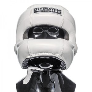 Шлем бамперный Ultimatum Boxing Gen3FaceBar WhiteForce белый