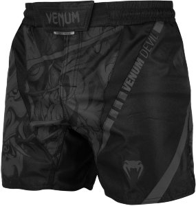 Шорты ММА Venum Devil Black/Black 02929
