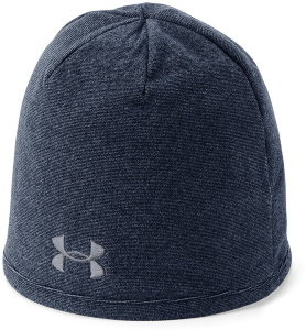 Шапка Under Armour Men's Survivor Fleece Beanie Academy /  / Steel 1300837-408
