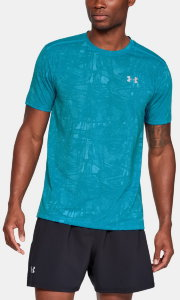 Футболка Under Armour STREAKER NOVELTY SS CREW Deceit /  / Reflective 1317561-439