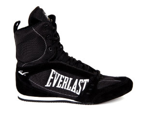 Боксерки Everlast High-Top Competition 527 черн.