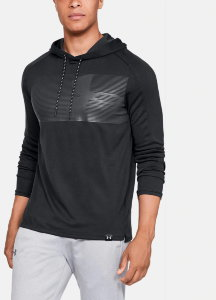Толстовка Under Armour Lighter Longer PO Hoodie Black /  / Black 1320833-001