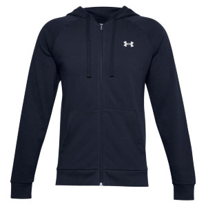 Толстовка Under Armour UA Rival Cotton FZ Hoodie 1357106-410