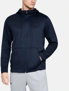 Толстовка Under Armour ARMOUR FLEECE FZ HOODIE Academy /  / Academy 1320744-408