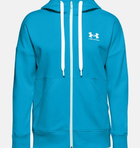 Толстовка Under Armour Rival Fleece FZ Hoodie 1356400-417