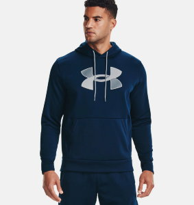 Толстовка Under Armour UA Armour Fleece Big Logo HD 1357085-408