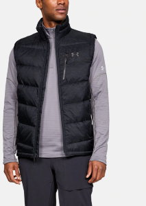 Жилет Under Armour Down Sweater Vest- WARM Black / Black / Charcoal 1323835-001