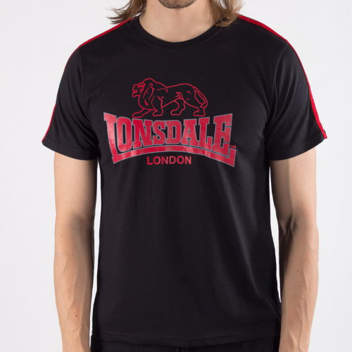 Футболка Lonsdale 113109 BLACK/RED